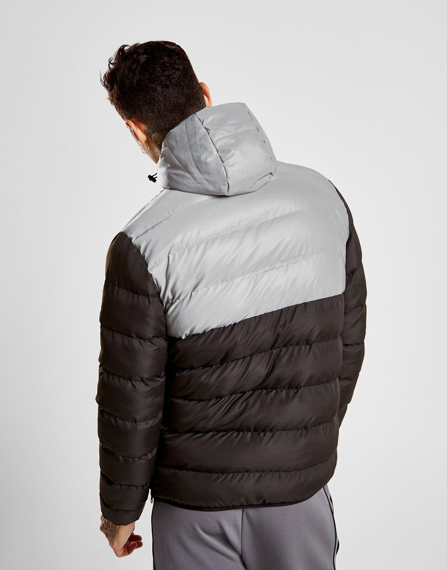 Supply & Demand Rail 1/4 Zip Reflective Jacket