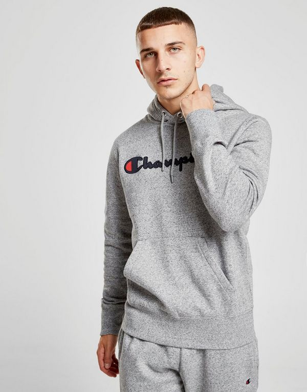 champion sweat capuche premium script homme jd sports. Black Bedroom Furniture Sets. Home Design Ideas