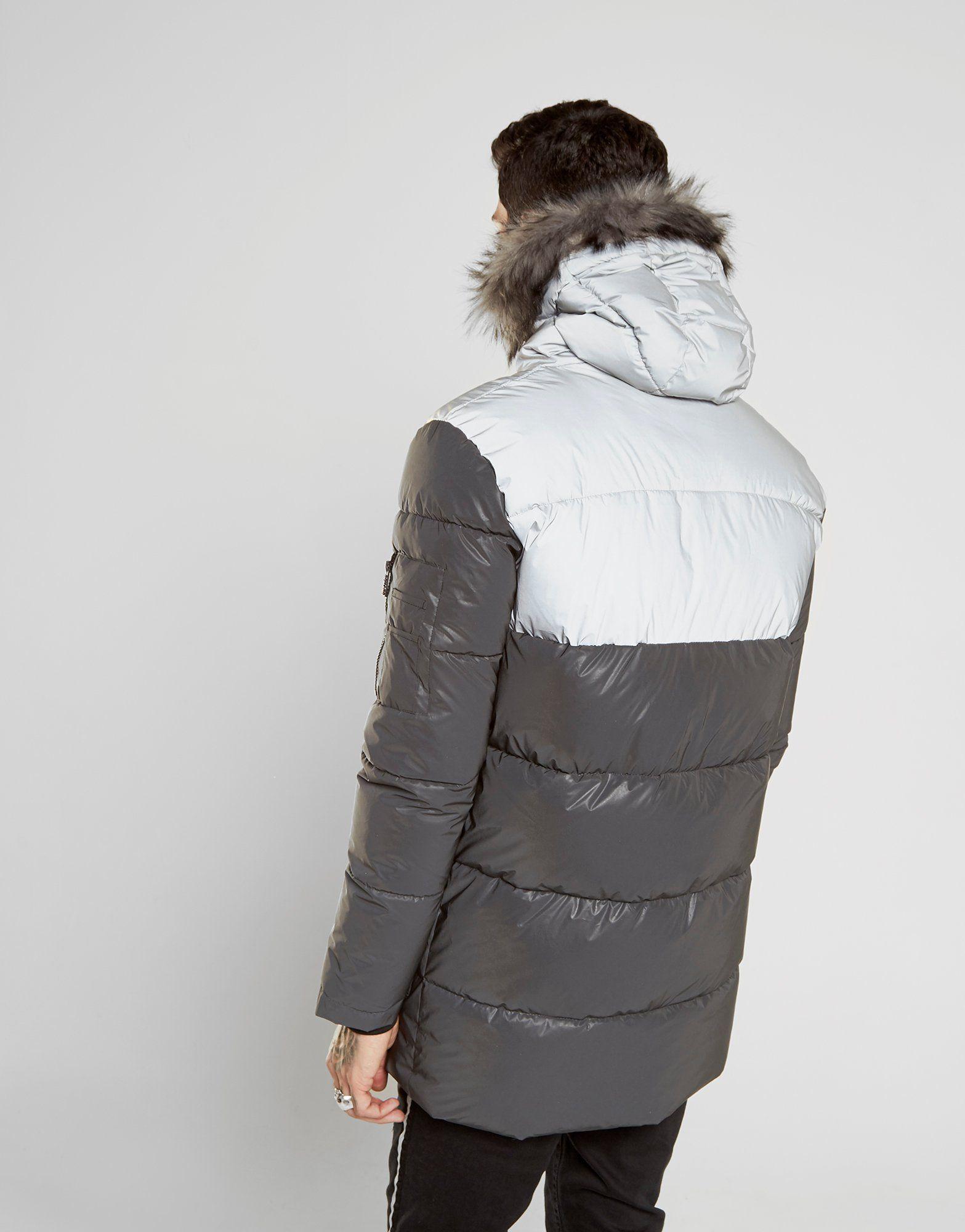Supply & Demand Deux Reflective Parka Jacket