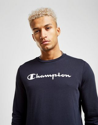 Shirt Manches T Longues Champion HommeJd Sports m08nwOvN