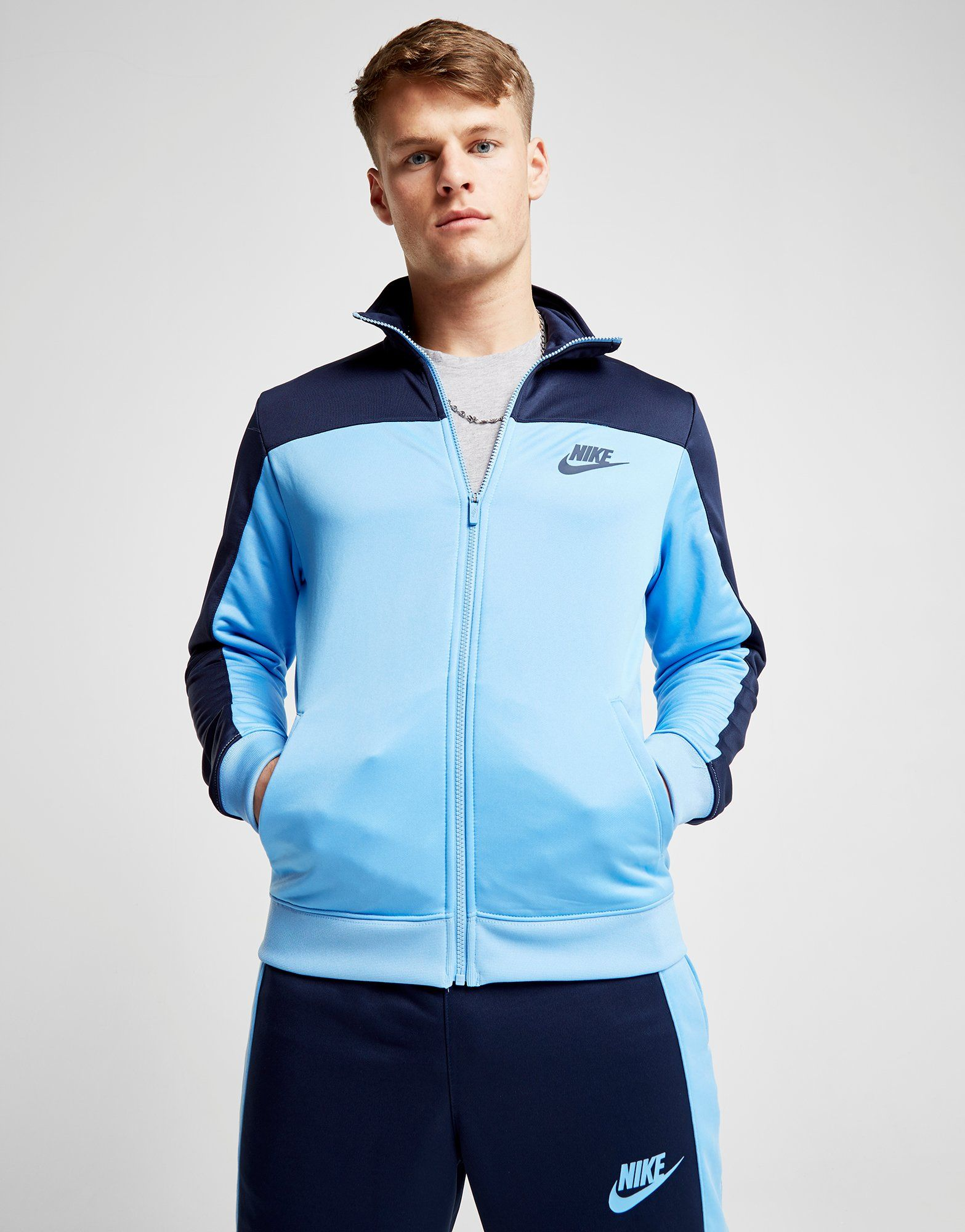 Blau Poly Top Colourblock Poly Track Poly Nike Track Top Season Season Blau Colourblock Nike Colourblock Season Nike wqAaXpznx