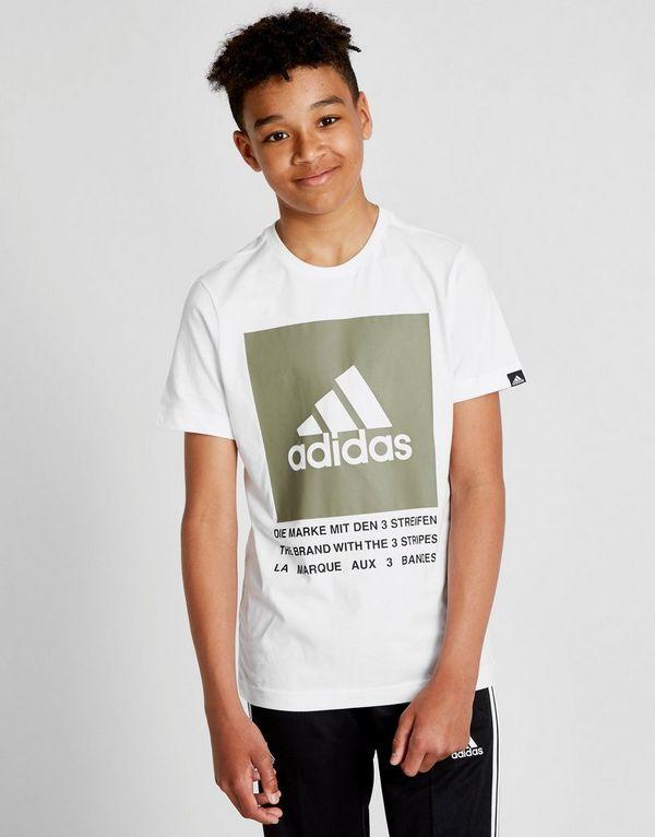 adidas Performance Box T-Shirt Junior   JD Sports b661e54fdab2