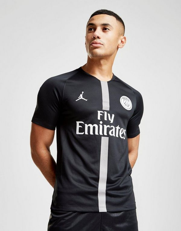 Jordan x Paris Saint Germain 2018 19 CL Home Shirt  0b6ec3cf3