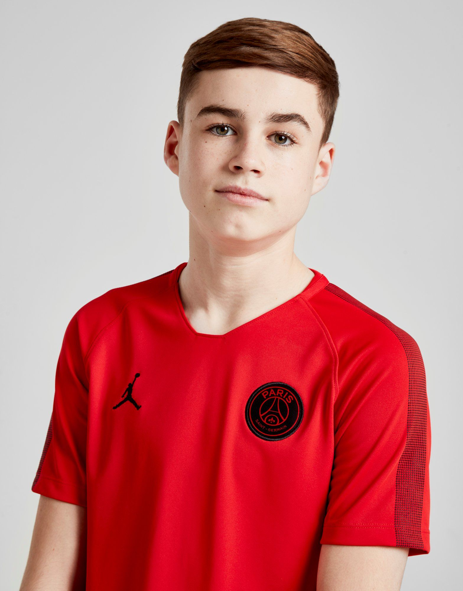 Jordan camiseta x Paris Saint Germain Squad júnior