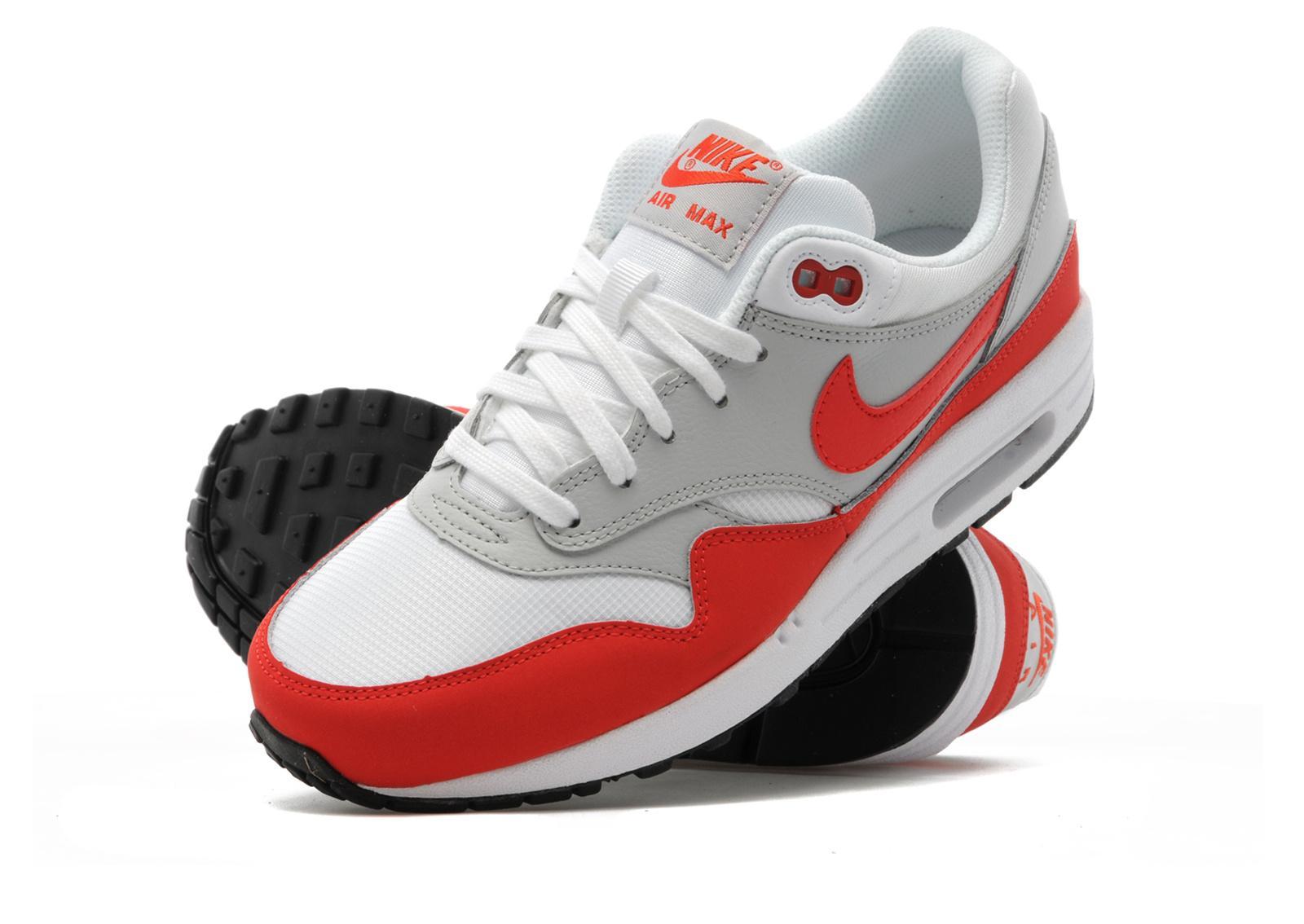 Rouge Air Max 1 Junior