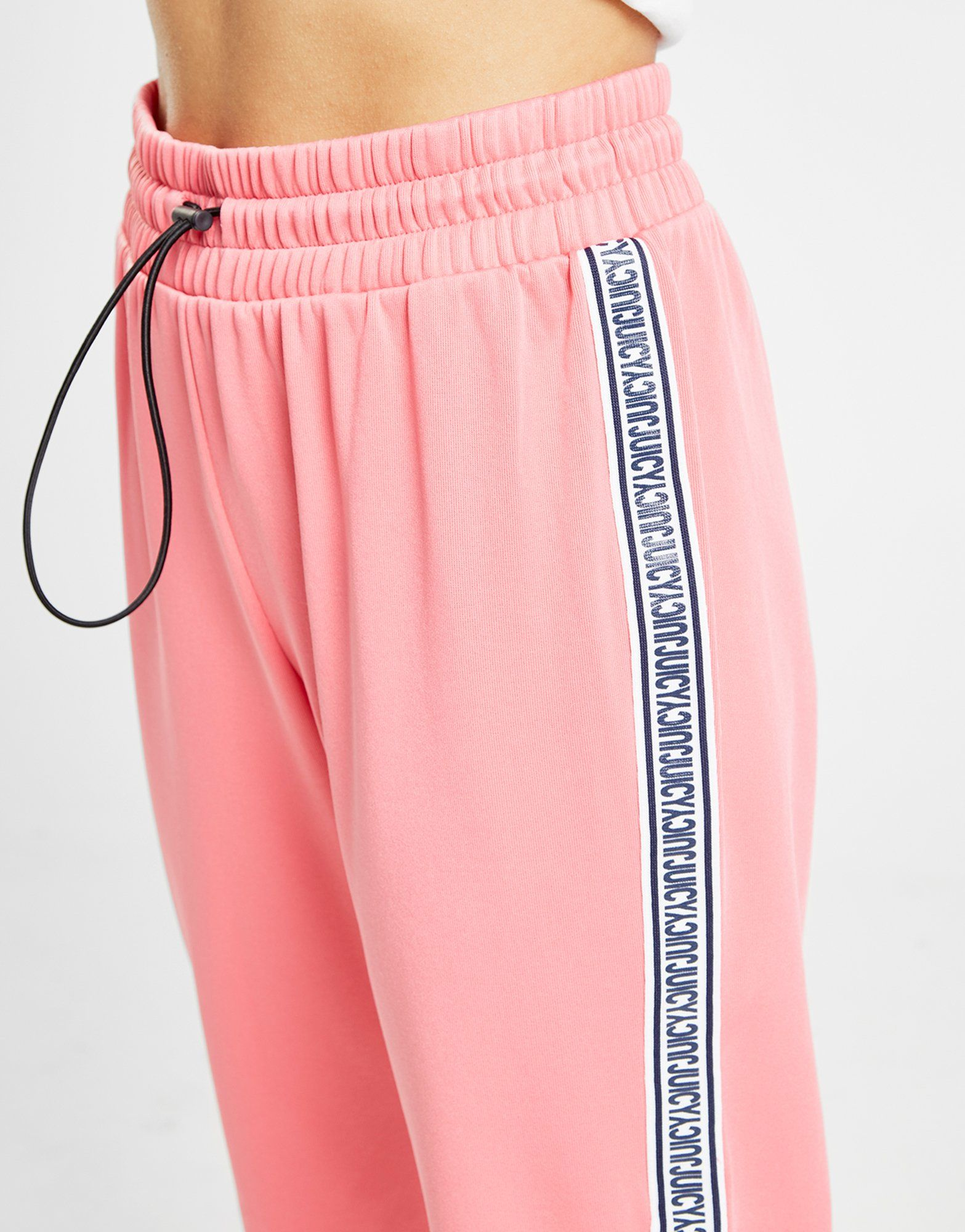 Juicy by Juicy Couture Tape Wide Leg Track Pants