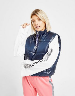 Juicy by Juicy Couture Blouson & Gilet Tape Puffer Femme