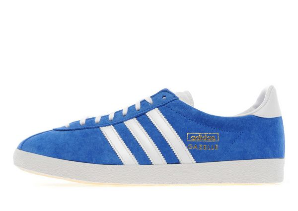 Adidas Originals Gazelle Og Trainers - Blue/Red