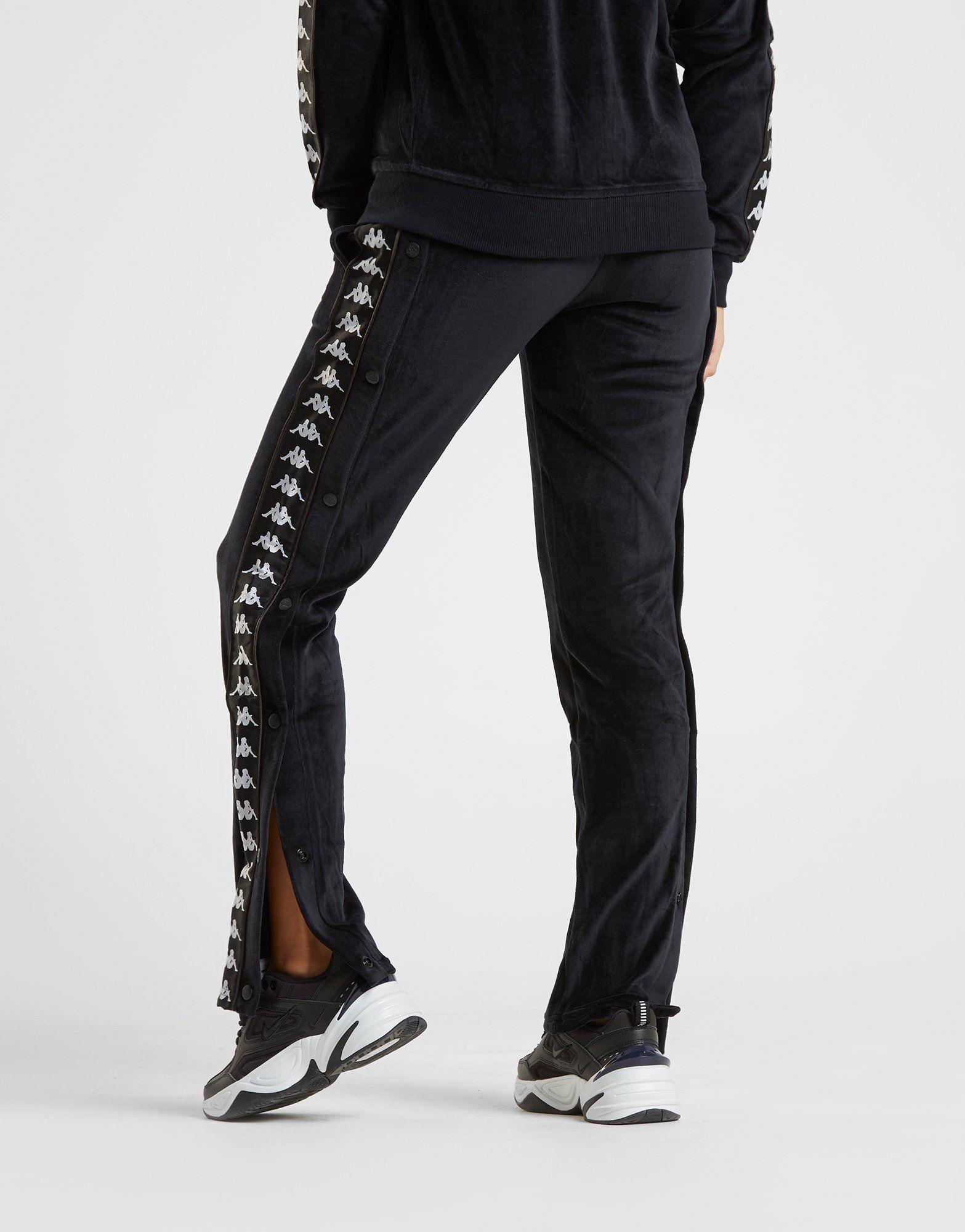 Kappa Pantalon en velours Popper Pants Femme