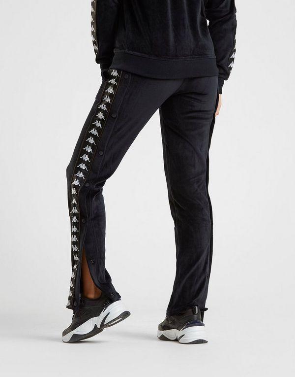 21980d4644 Kappa Velour Popper Track Pants | JD Sports Ireland