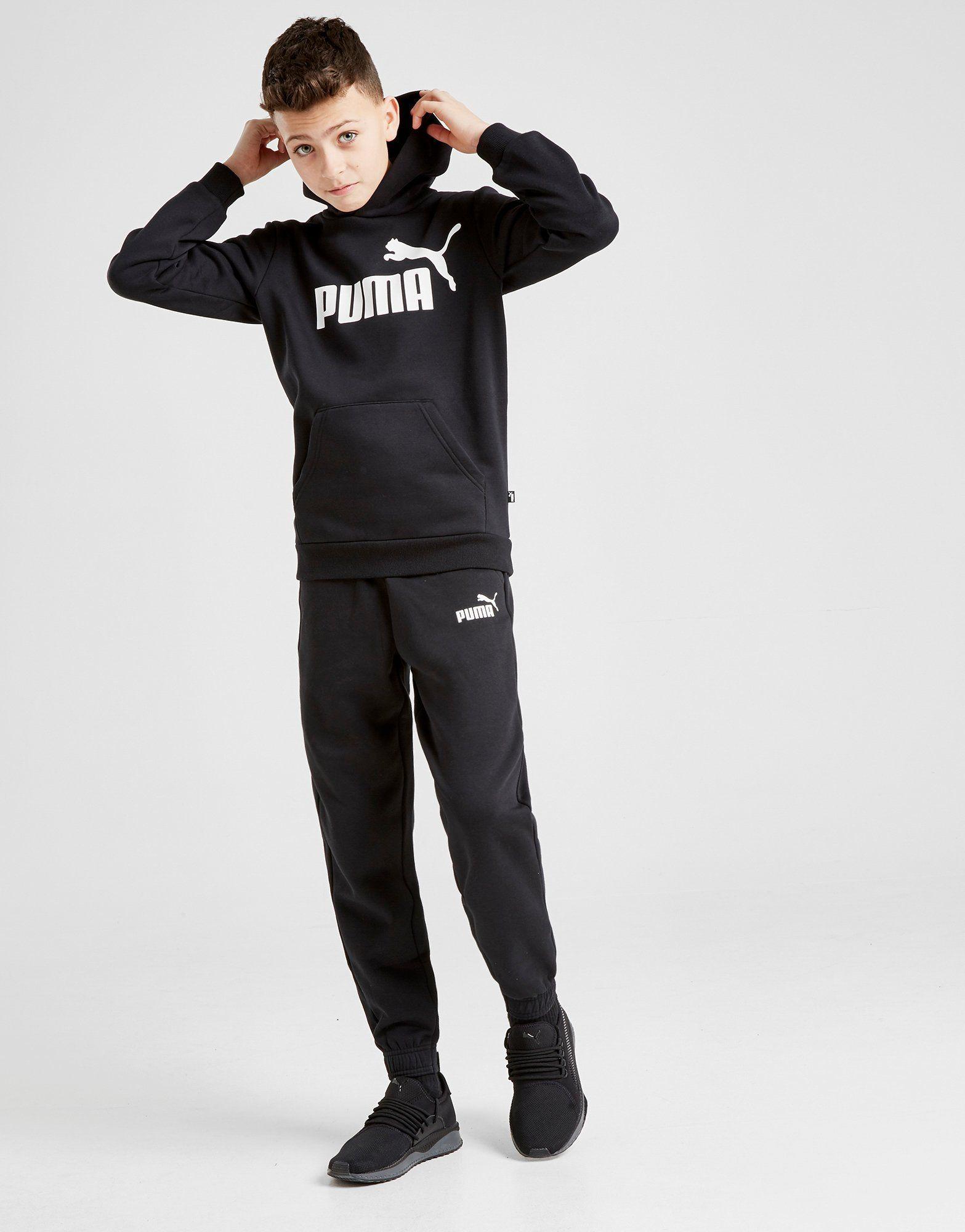 PUMA Core Logo Hoodie Junior