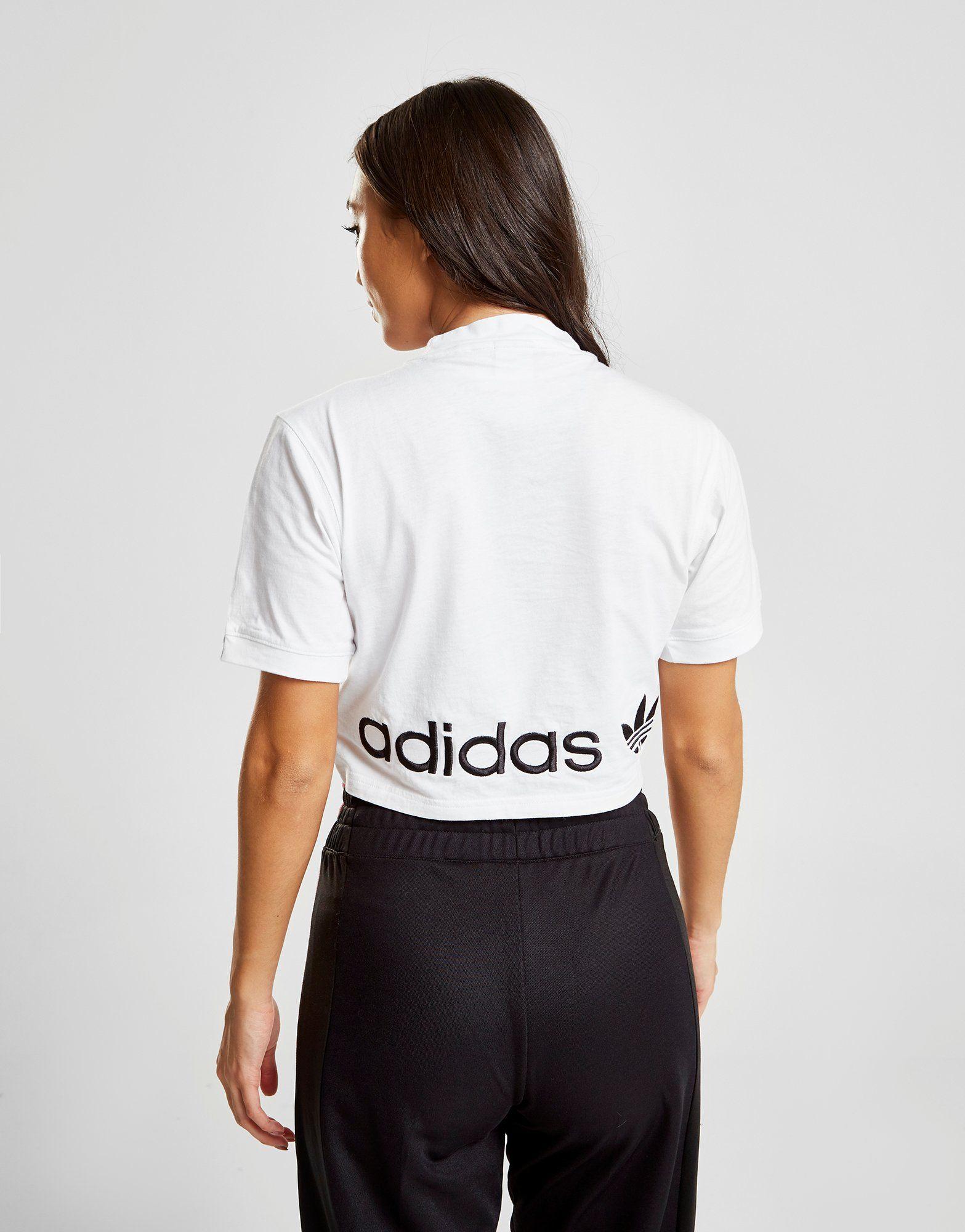 adidas Originals T-shirt Coeeze Ruche Femme