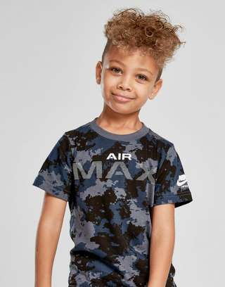 090b42a04781 Nike Air Max Camo T-Shirt Children