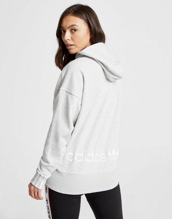 adidas Originals Sweat à capuche Coeeze Ruche Femme   JD Sports 9d057546b2b2