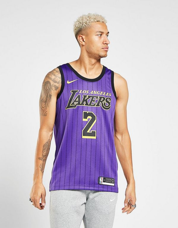 NIKE Lonzo Ball City Edition Swingman (Los Angeles Lakers) Men s Nike NBA  Connected Jersey 8e4b63bfc