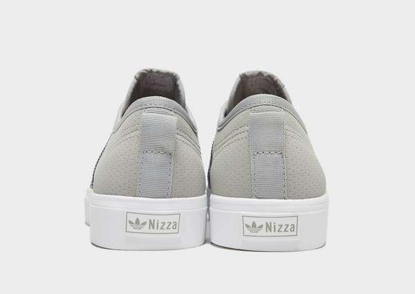 size 40 25197 2df3a Grey on feet shots of eb112 b318d adidas Originals Nizza Lo ...