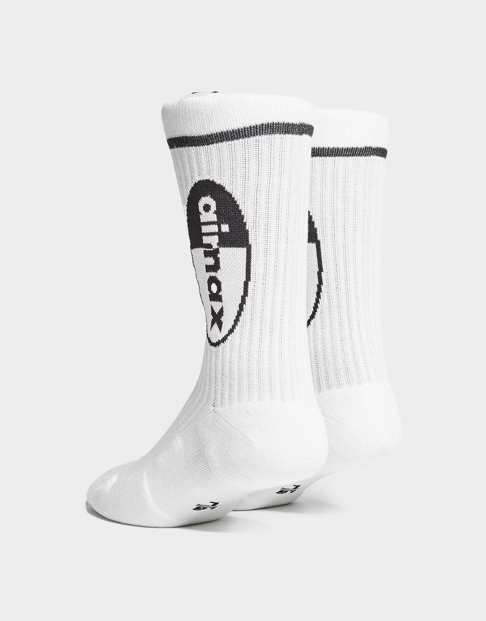 Nike Pack de 2 paires de chaussettes Air Max Crew Homme