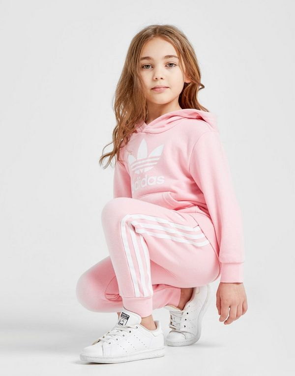 9d234c7847ff adidas Originals Girls  Adicolour Overhead Tracksuit Children