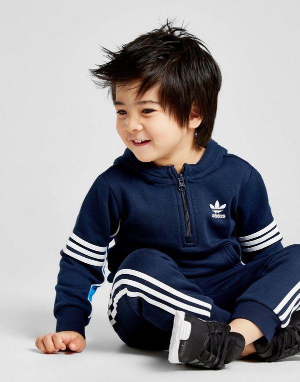 adidas Originals chándal Authentic 1 4 Zip para bebé  72483ee0dcdc6