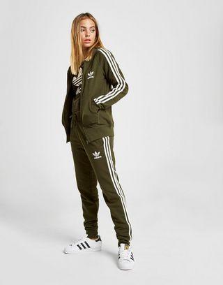 adidas originals veste zippée à capuche 3-stripes