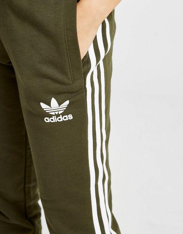 adidas originals pantalon molletonné 3-stripes california femme noir