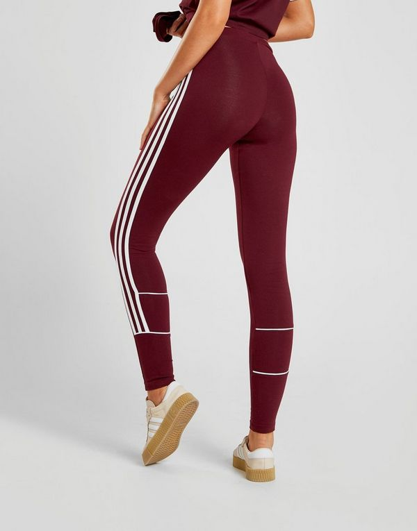 adidas Originals 3-Stripes Piping Leggings Donna  46196c397980