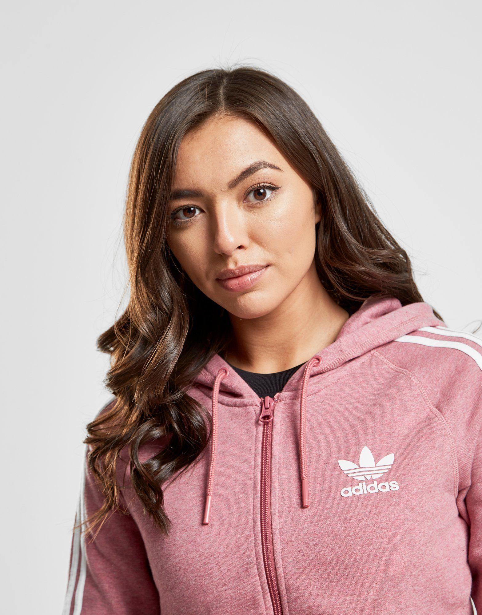 adidas Originals 3-Stripes California Full Zip Hoodie