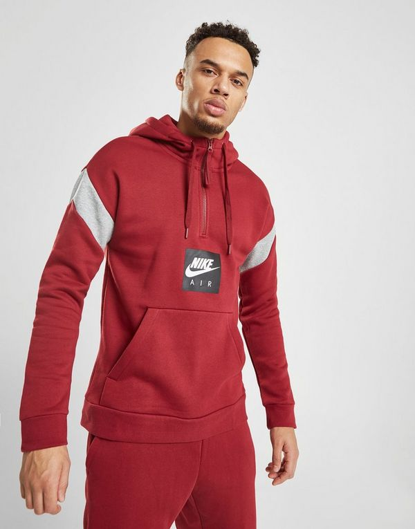4727c88c8e01 Nike Air 1 2 Zip Fleece Hoodie