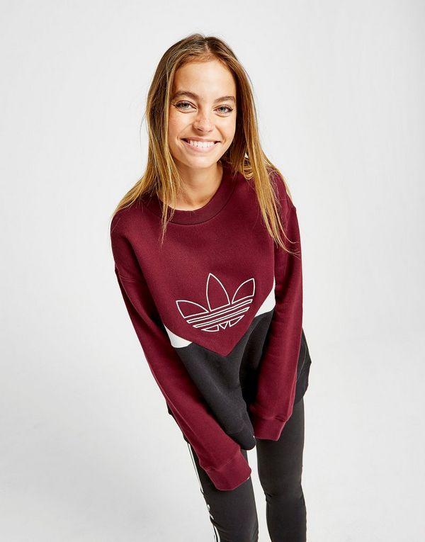 a43456e5ed8 adidas Originals Colarado Pique Crew Sweatshirt | JD Sports Ireland