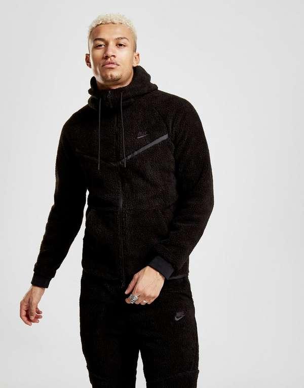 official photos 4ef95 f30e6 NIKE Nike Sportswear Windrunner Tech Fleece Men s Sherpa Hoodie   JD Sports