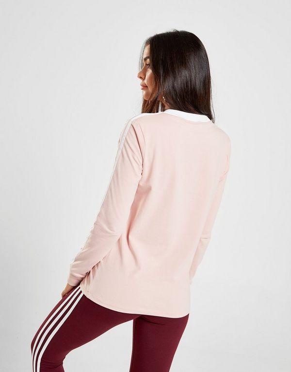 hot sale online e358b 22130 adidas Originals 3-Stripes California Maglia a maniche lunghe Donna