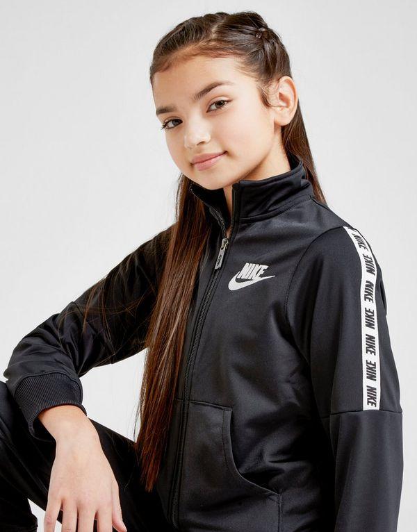 925d5df5e055 Nike Girls  Poly Tape Tracksuit Junior
