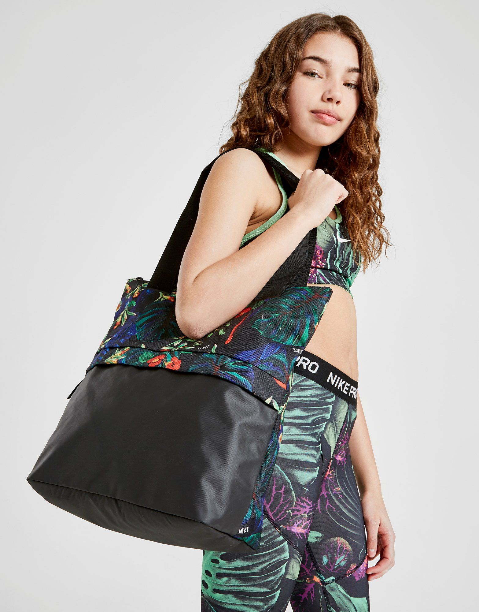 Nike Radiate Flower Tote Bag