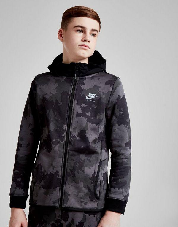 buy popular 831e5 ff38d Nike Air Max All Over Print Full Zip Hoodie Junior   JD Sports Ireland