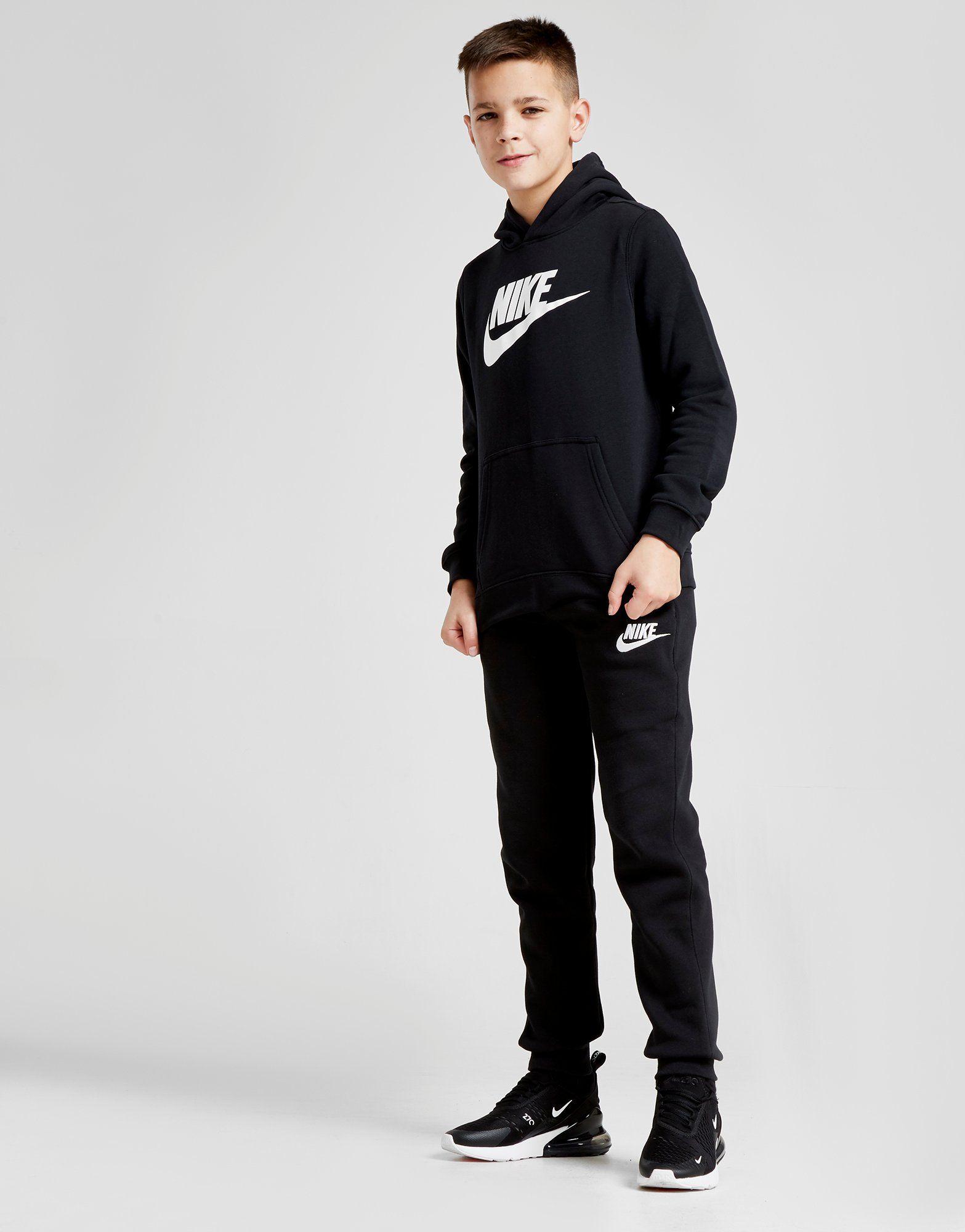 Nike Club Logo Hoodie Junior