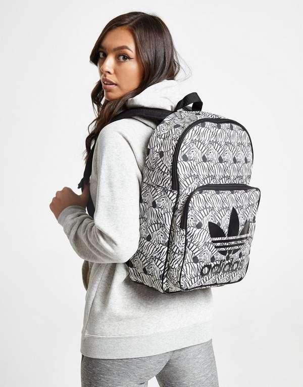 adidas Originals Classic Zebra Backpack  97a666ddfa376