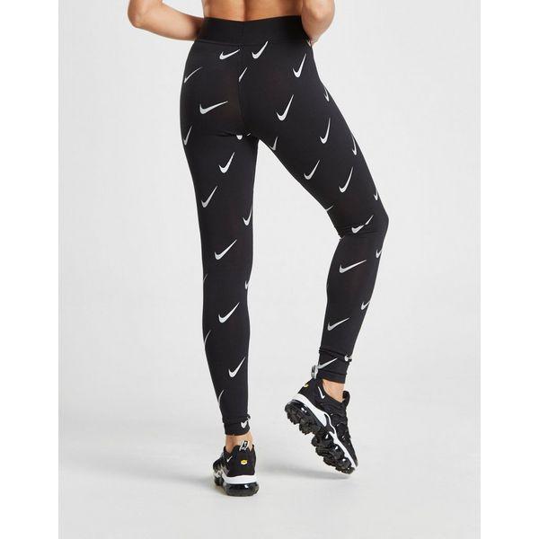 new style 789df 07f16 ... Nike All Over Print Swoosh Leggings ...