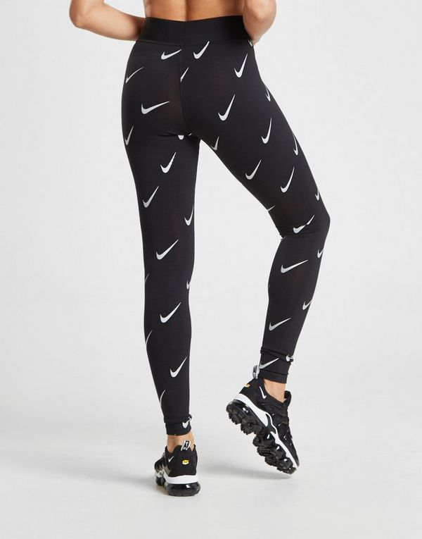 finest selection 28699 f3caf Nike All Over Print Swoosh Leggings