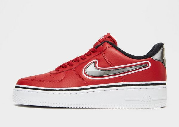 nike air force 1 heren red