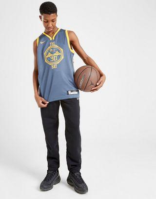 wholesale dealer ff843 fc5e9 Nike NBA Golden State Warriors City Curry Jersey Junio | JD ...
