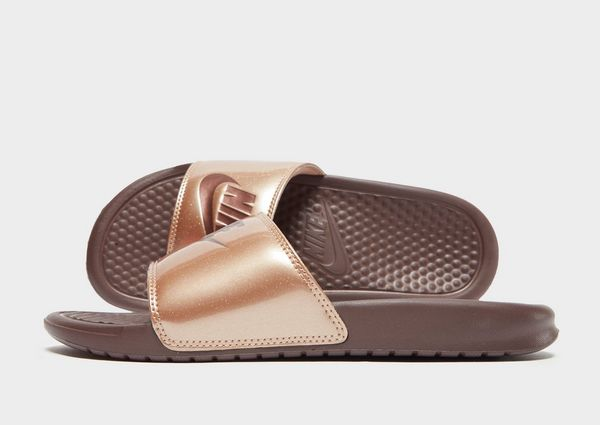 Nike Benassi Just Do It Slides Women s  995e5af414c
