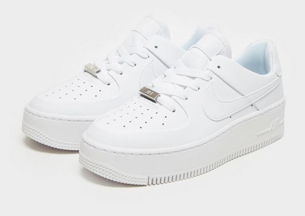 nike air force 1 sage low dames wit