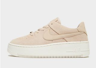 Nike Pink Air Force 1 Sage Low Trainers