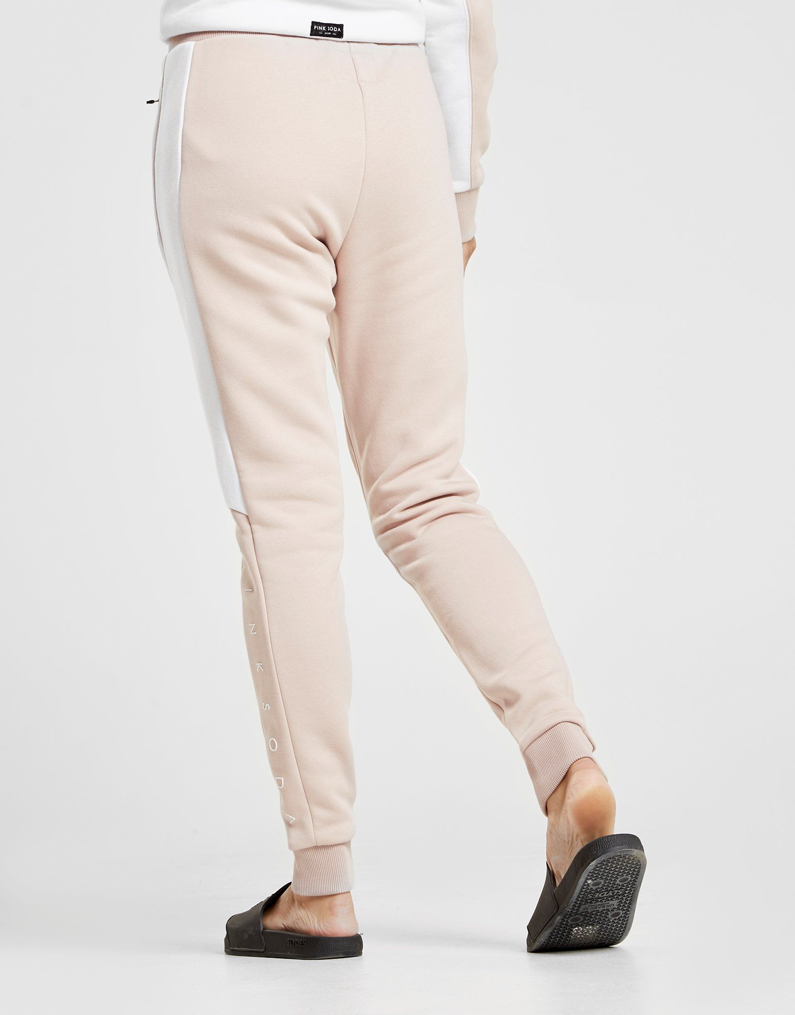 Pink Soda Sport Pantalon de survêtement Cut and Sew Femme