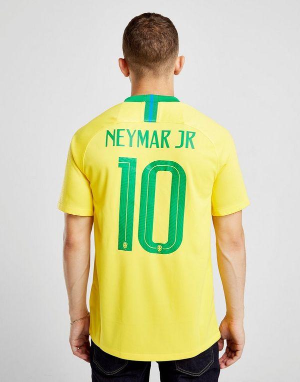 09cbe8bde44 Nike Brazil 2018 19 Neymar  10 Home Shirt