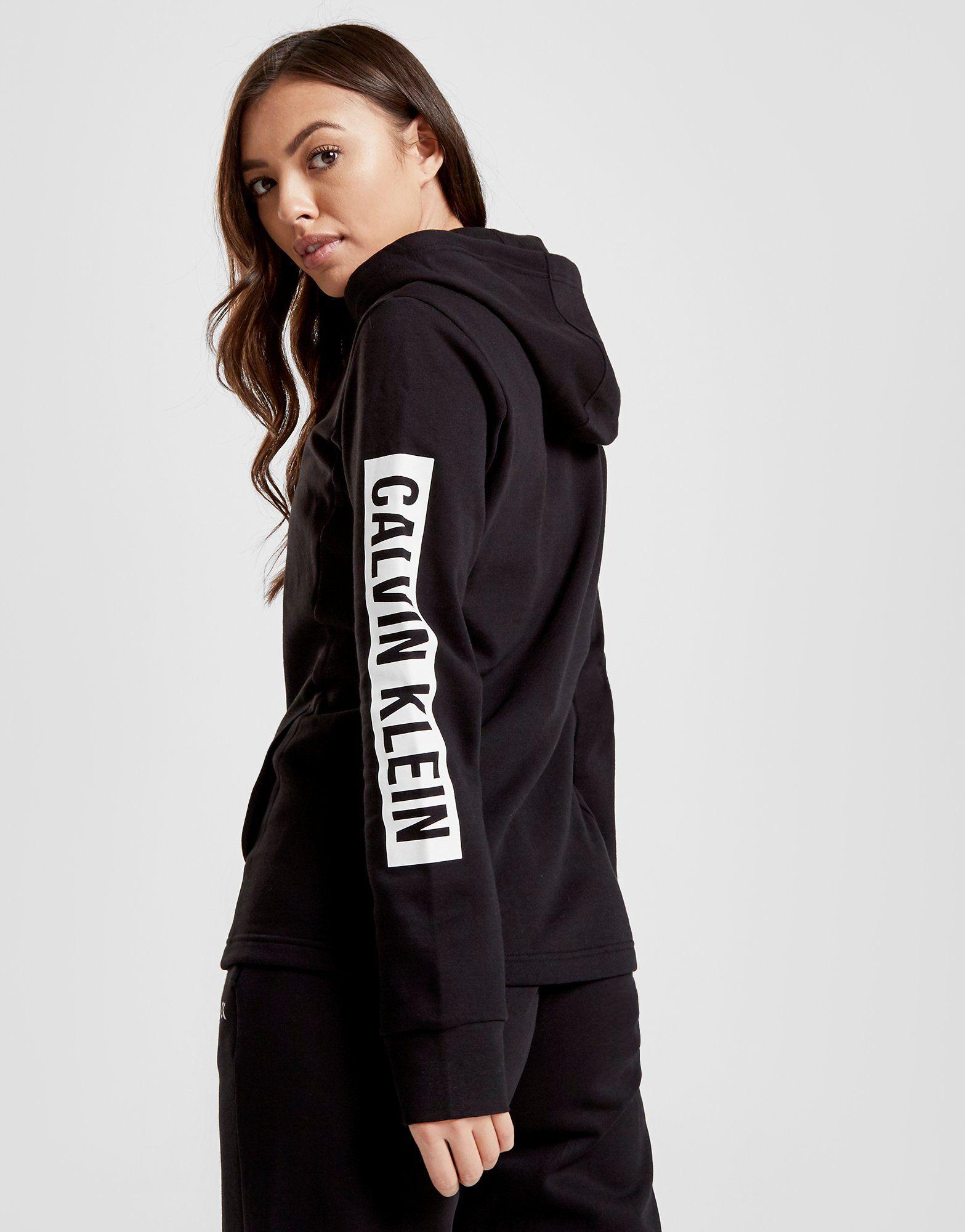 Calvin Klein Performance Full Zip Logo Hoodie