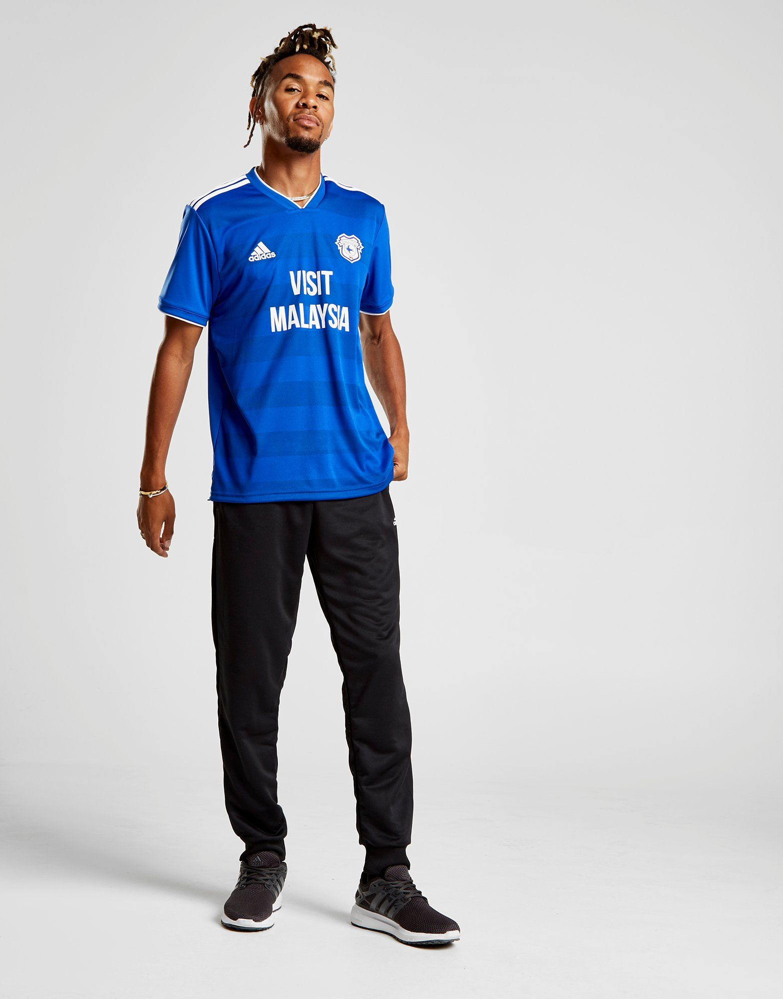 adidas Cardiff City FC 2018/19 Home Shirt