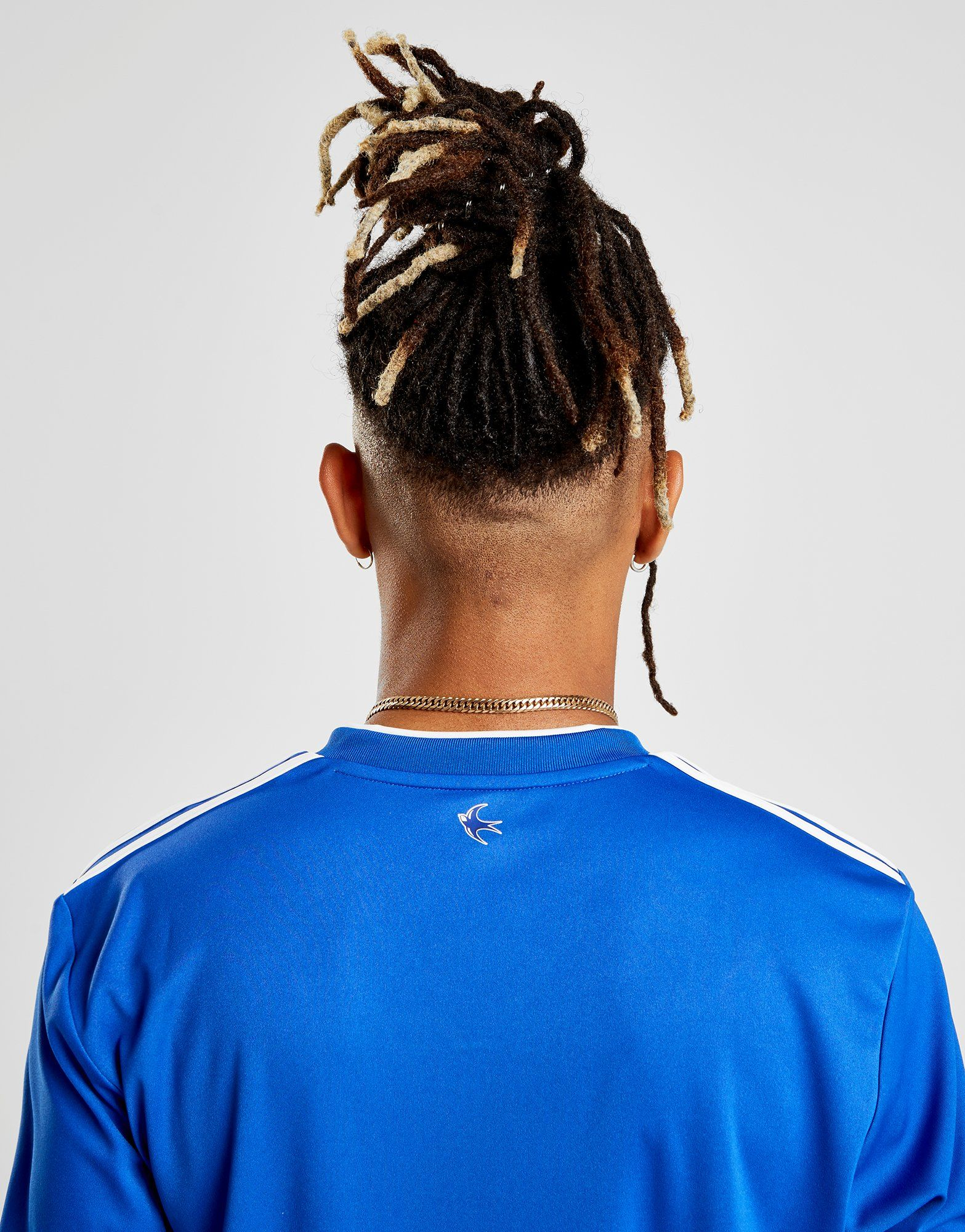 adidas Cardiff City FC 2018/19 Home Shirt