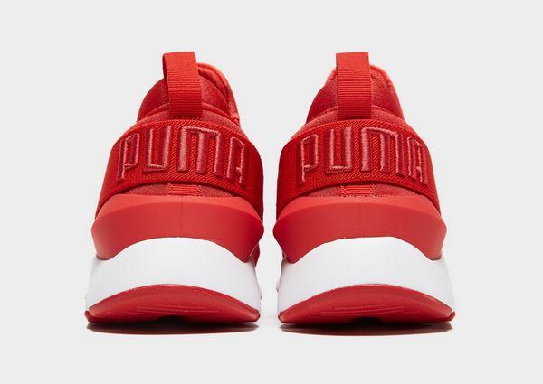 basket puma rouge femme