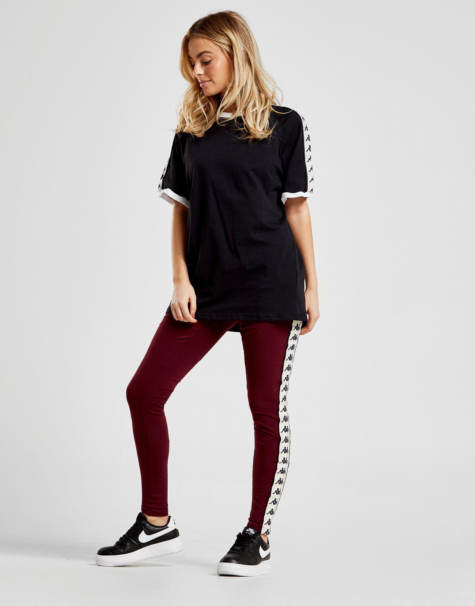Kappa Banda Leggings Donna